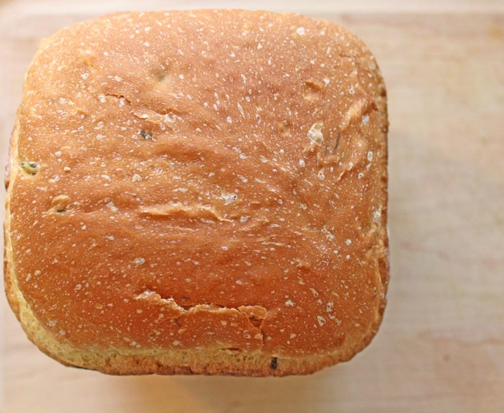 Breadmaker Jalpepeno Cheddar Bread