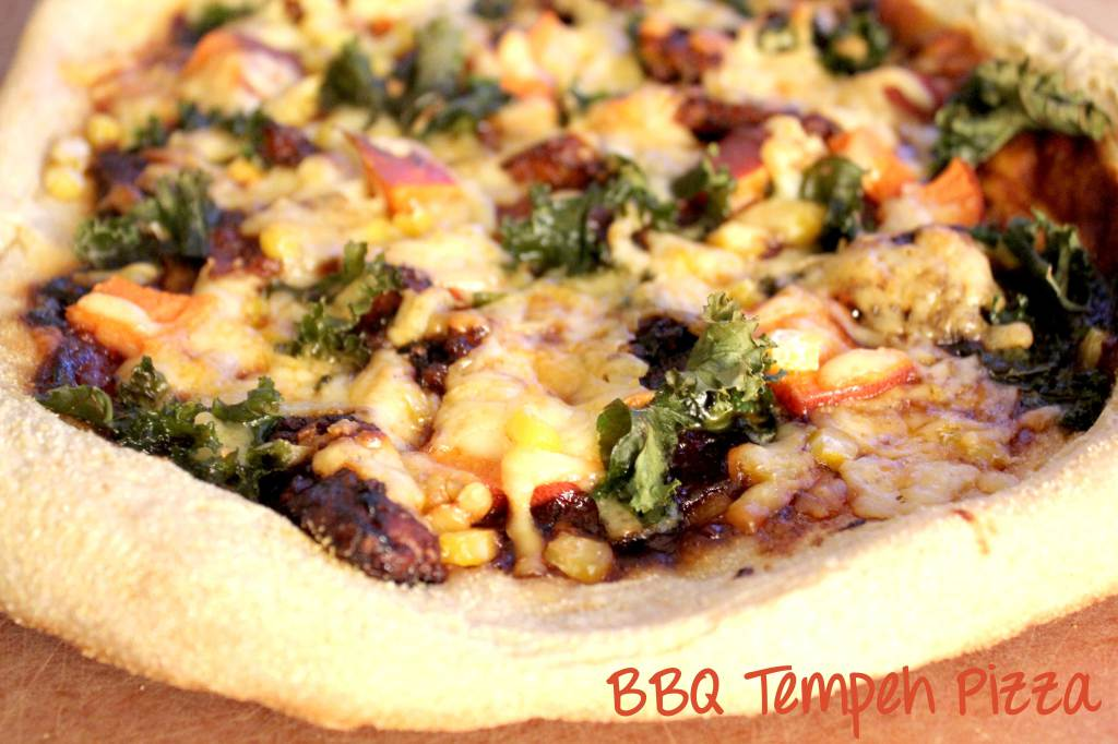 Pizza Party: BBQ Tempeh Pizza vs. Creamy Purple Potato Pizza