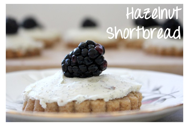 Moody Monday: Baker Bettie's Cookie Wars 2012 / Hazelnut Shortbread with Marscapone Frosting