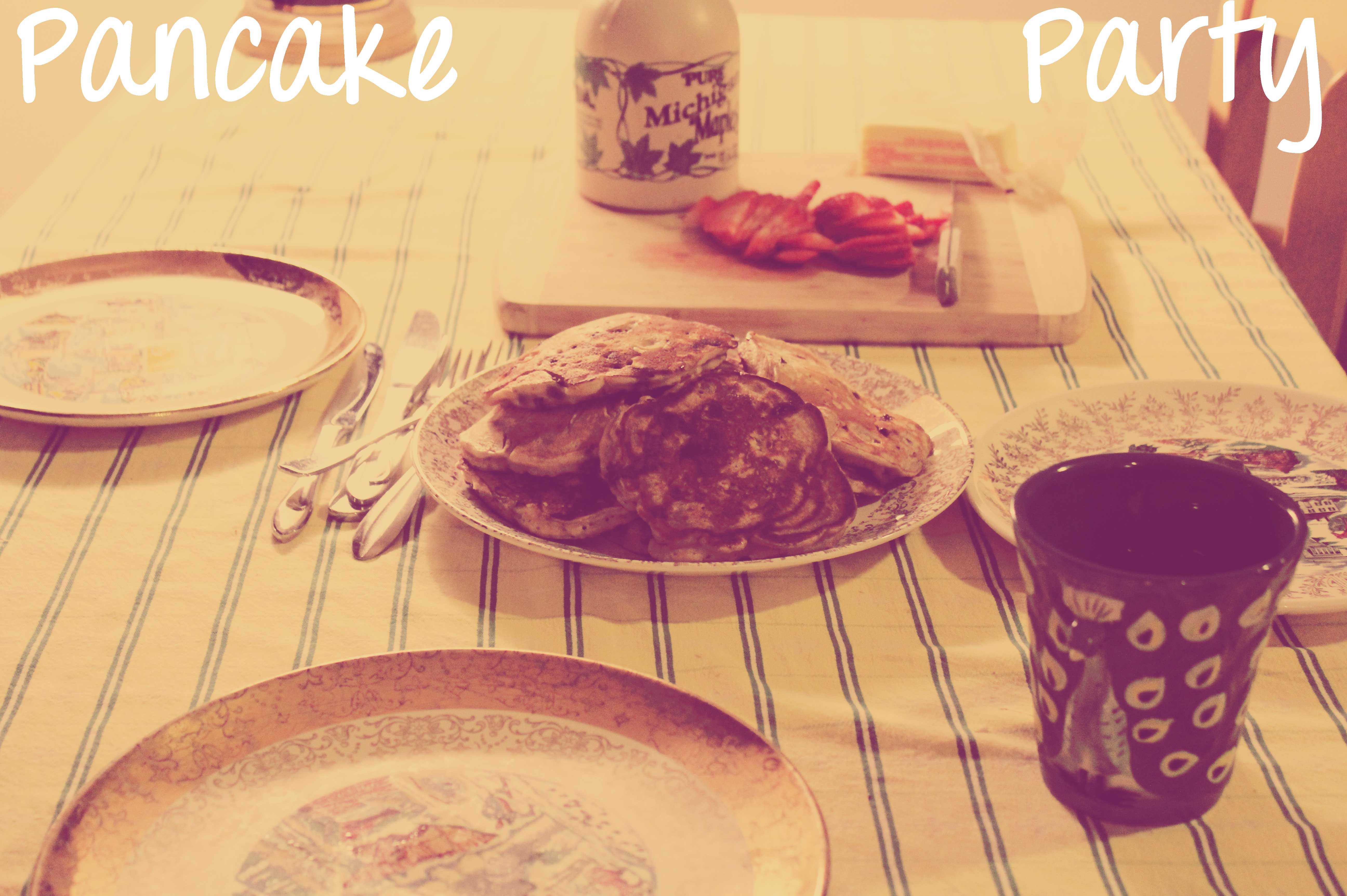 Moody Monday: Pancake Party