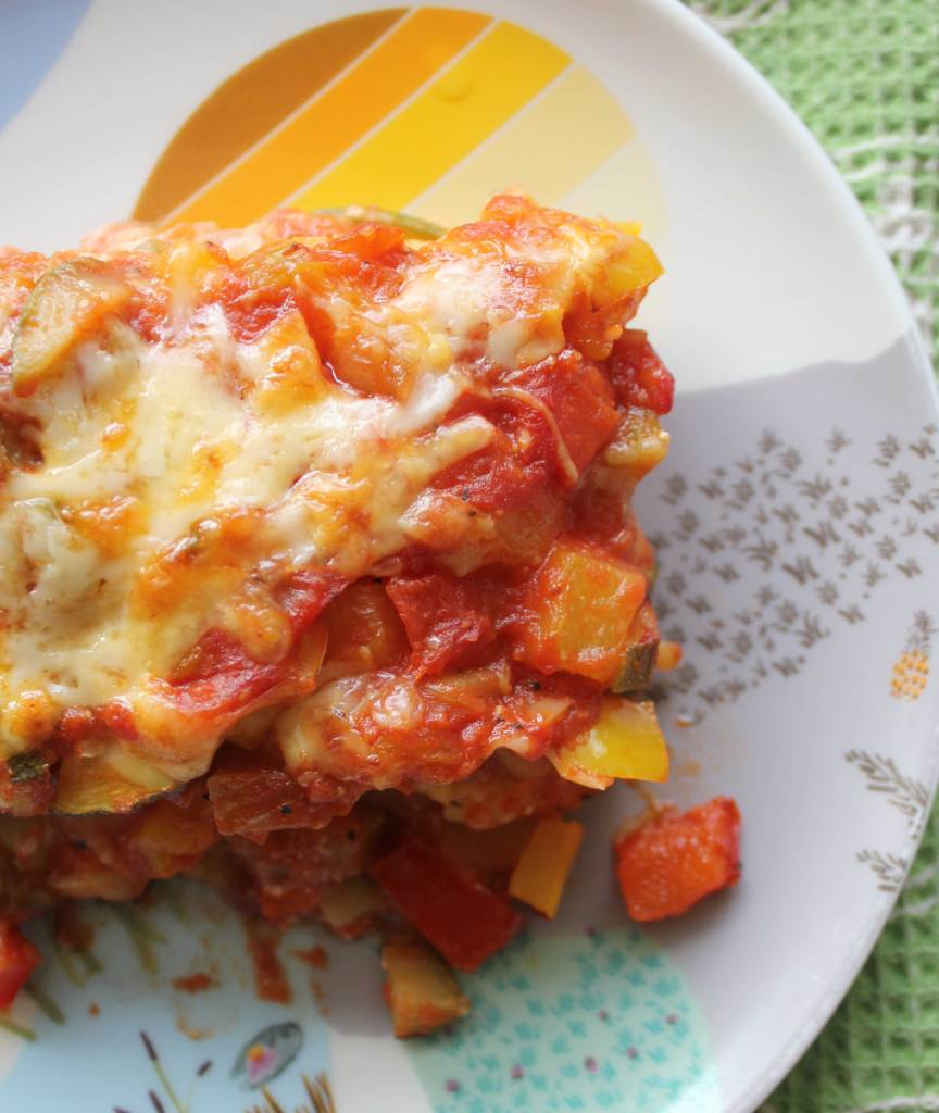 Polenta and Veggie Lasagna