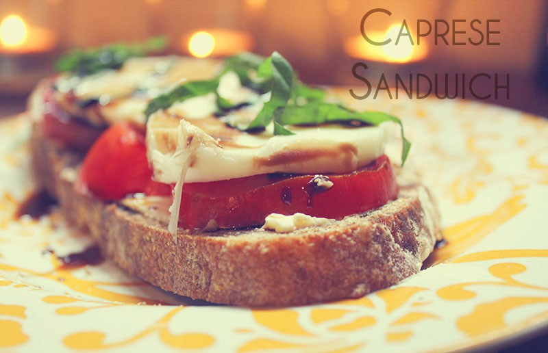 Caprese Breakfast // Recipe Inspiration from Dishes Undressed