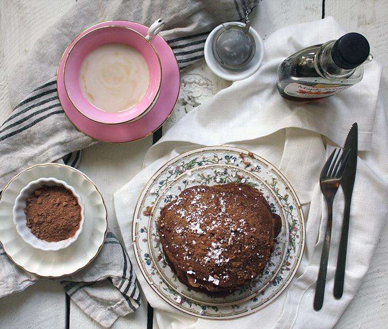 Chai Latte Pancakes + A Giveaway