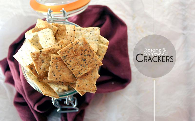 Sesame & Poppyseed Crackers