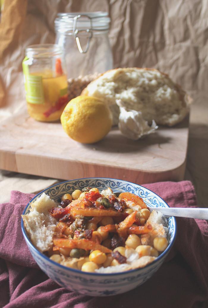 Leblebi // Chickpea Stew