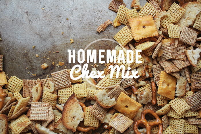 Homemade Chex Mix // The Perfect Road Trip Snack