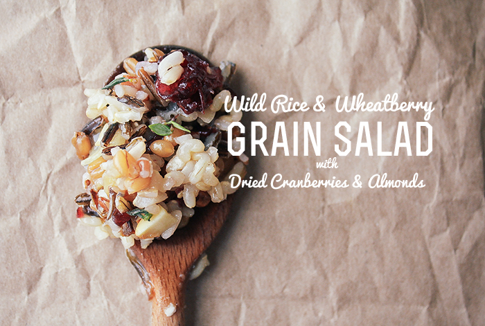 Wild Rice & Wheatberry Grain Salad