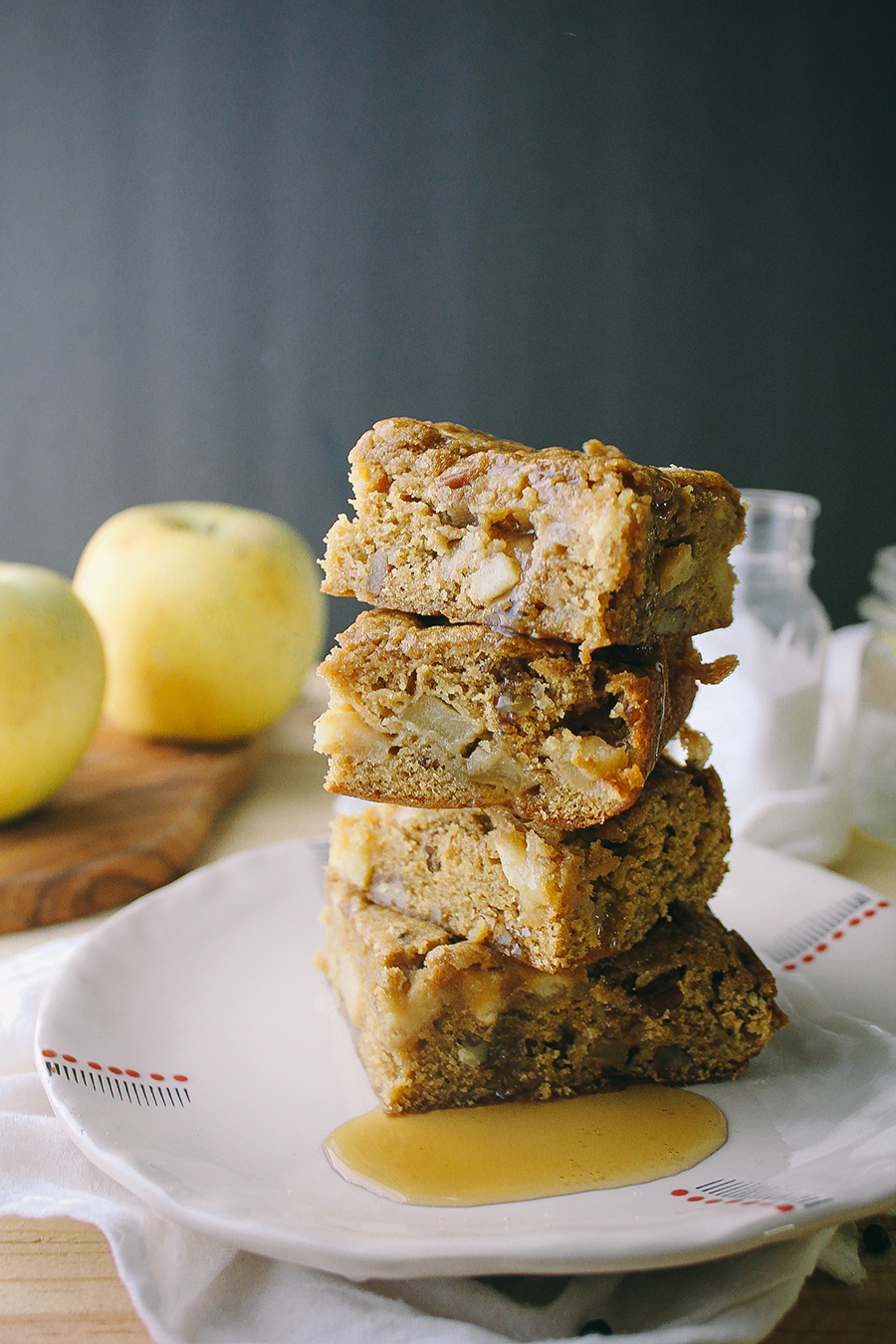 Maple Apple Bars