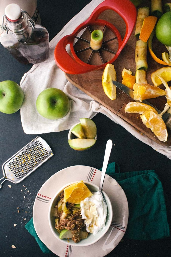 apple breakfast crumble