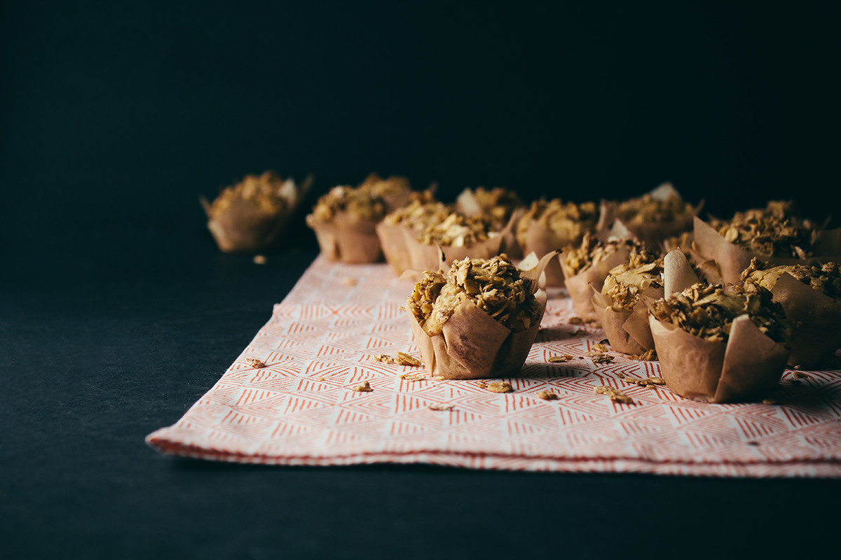 Tropical Mini Breakfast Muffins + Forager
