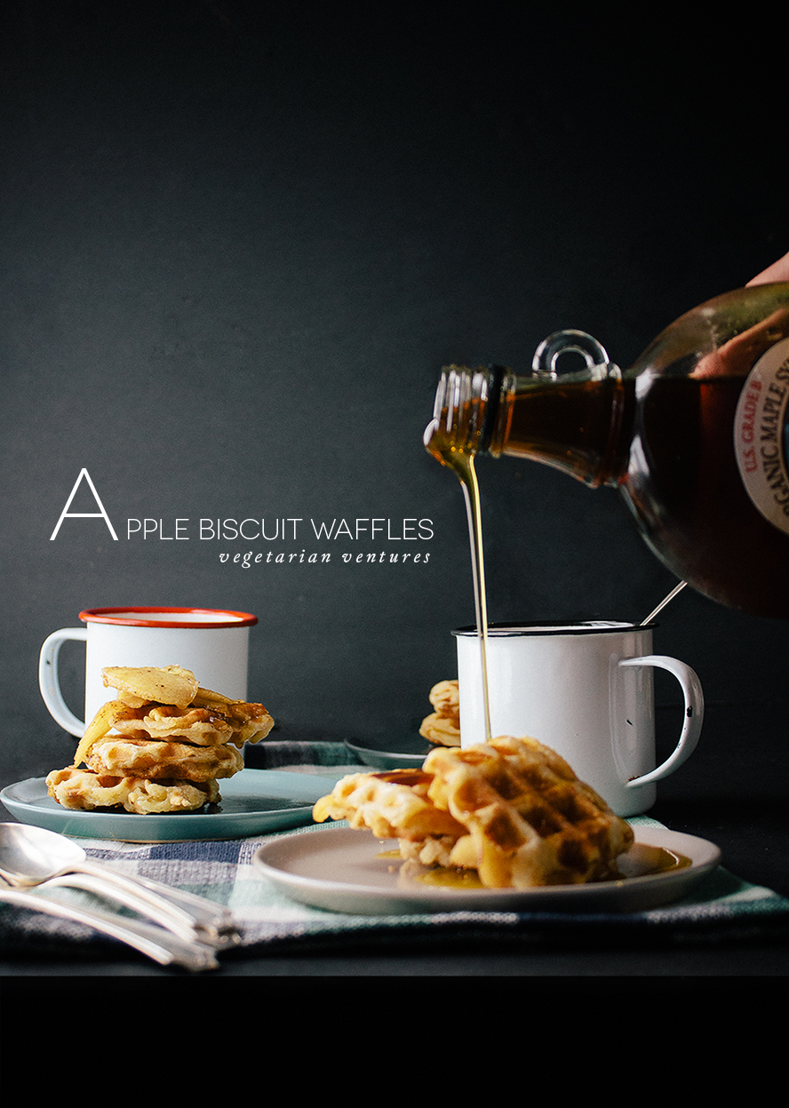 Spiced Apple Biscuit Waffles For Popover + Driftless Issue 2