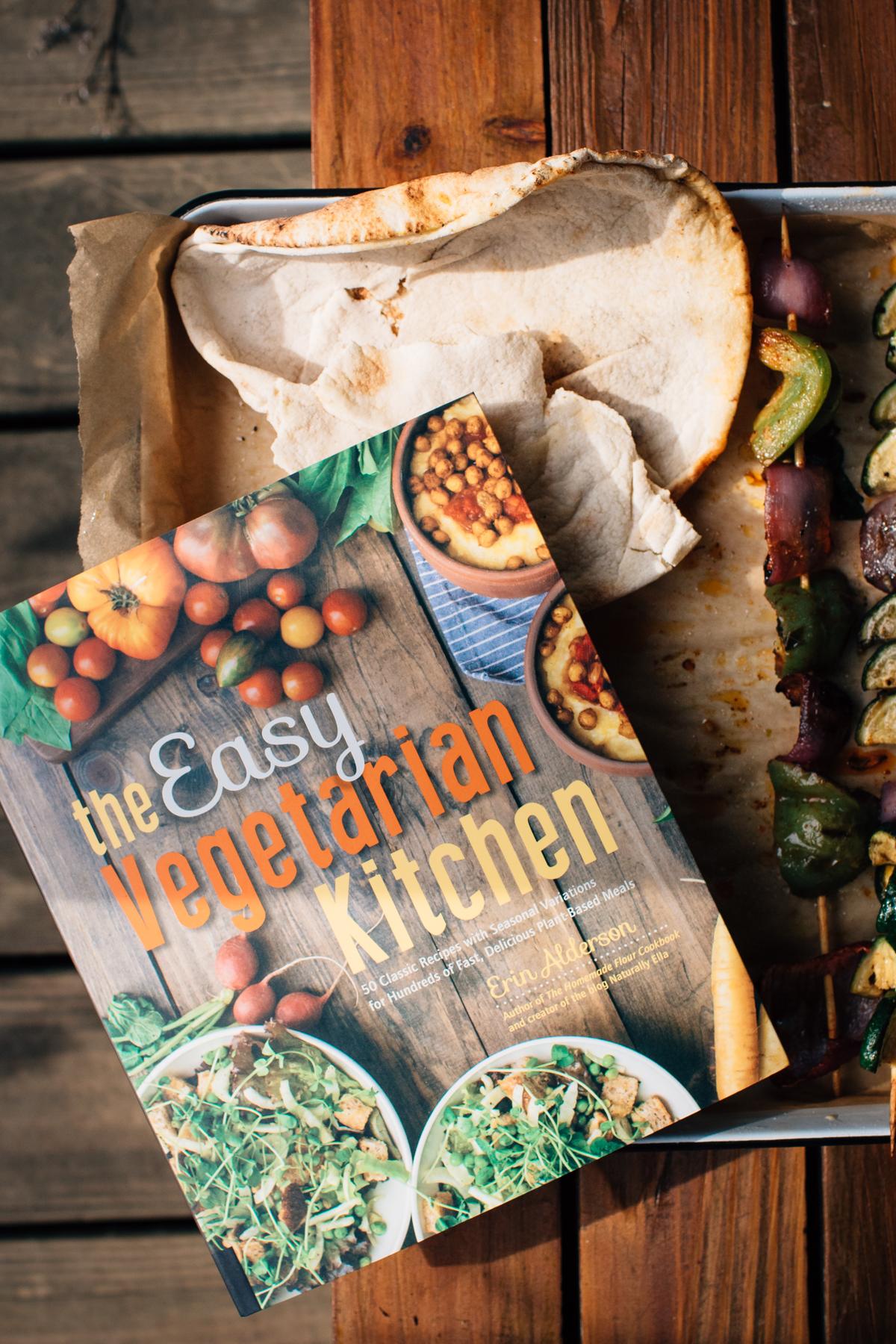 Vegetable Skewers From The Easy Vegetarian Kitchen