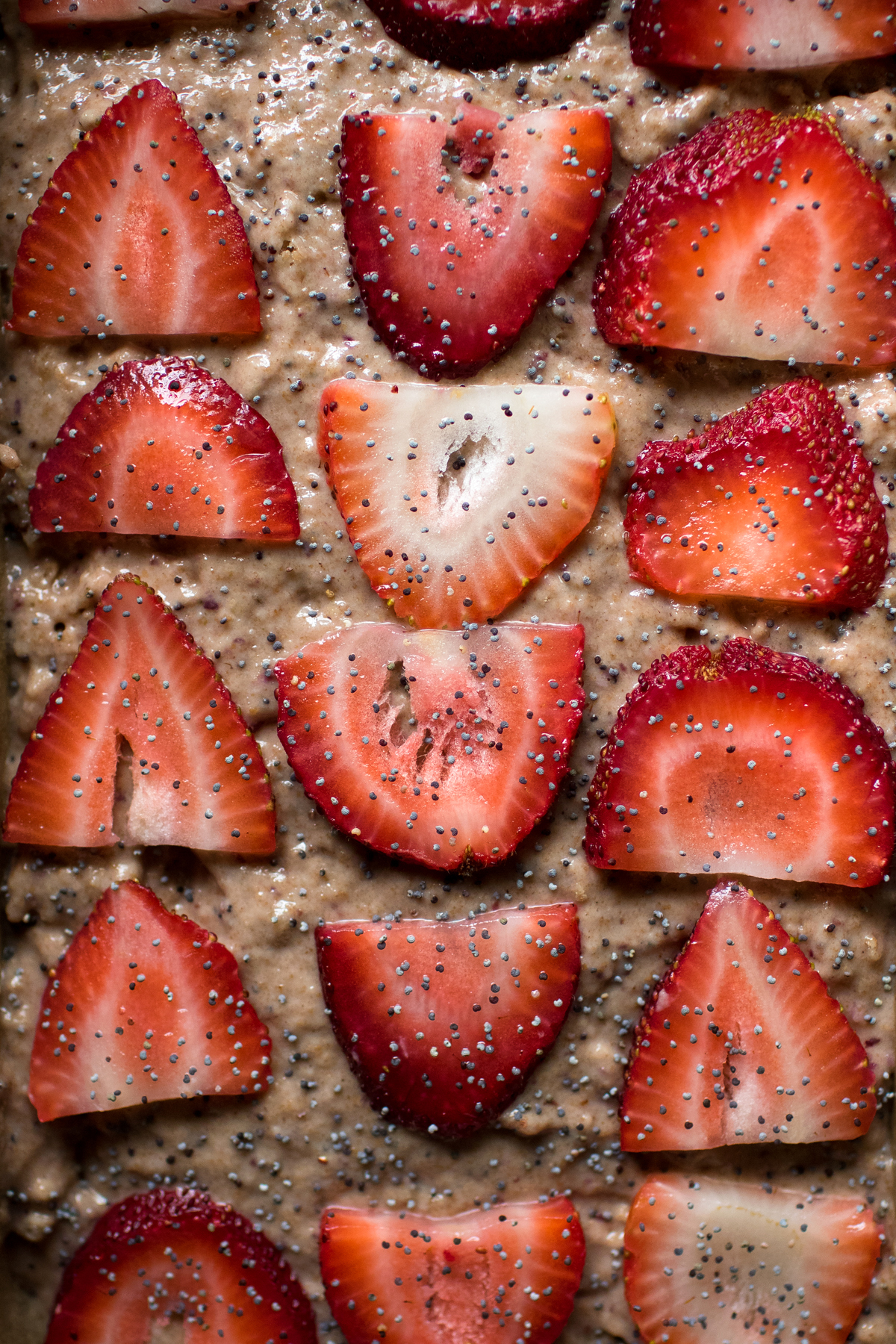 Strawberry & Poppyseed Buttermilk Bread