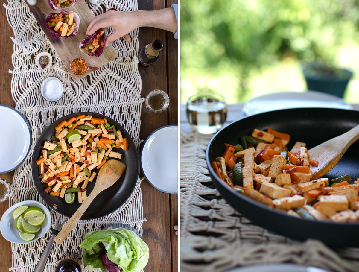 Coconut Thai Tofu Lettuce Wraps5