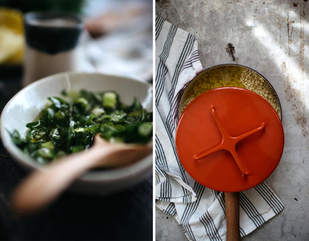 Simple Parmesan Couscous Salad