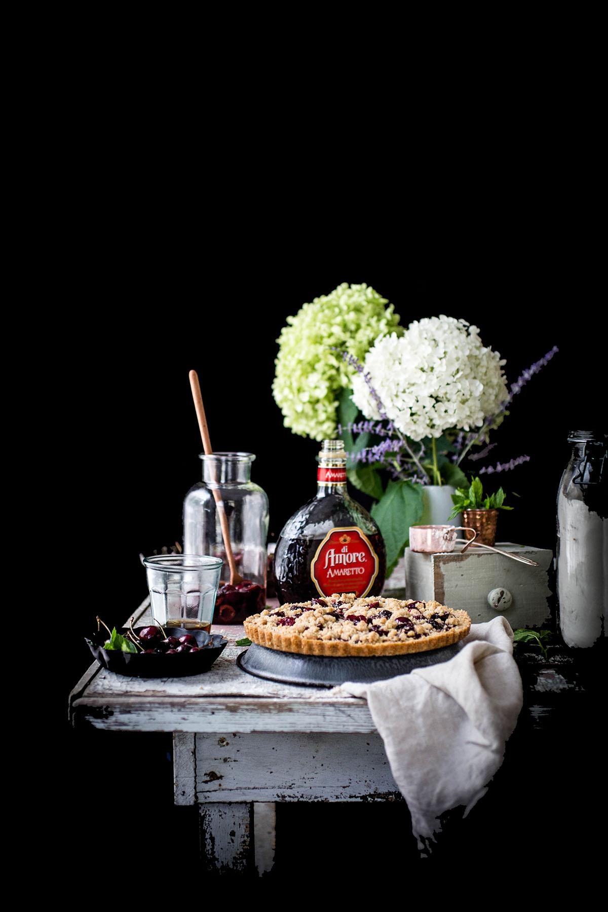 Cherry Shortbread Cookie Slices