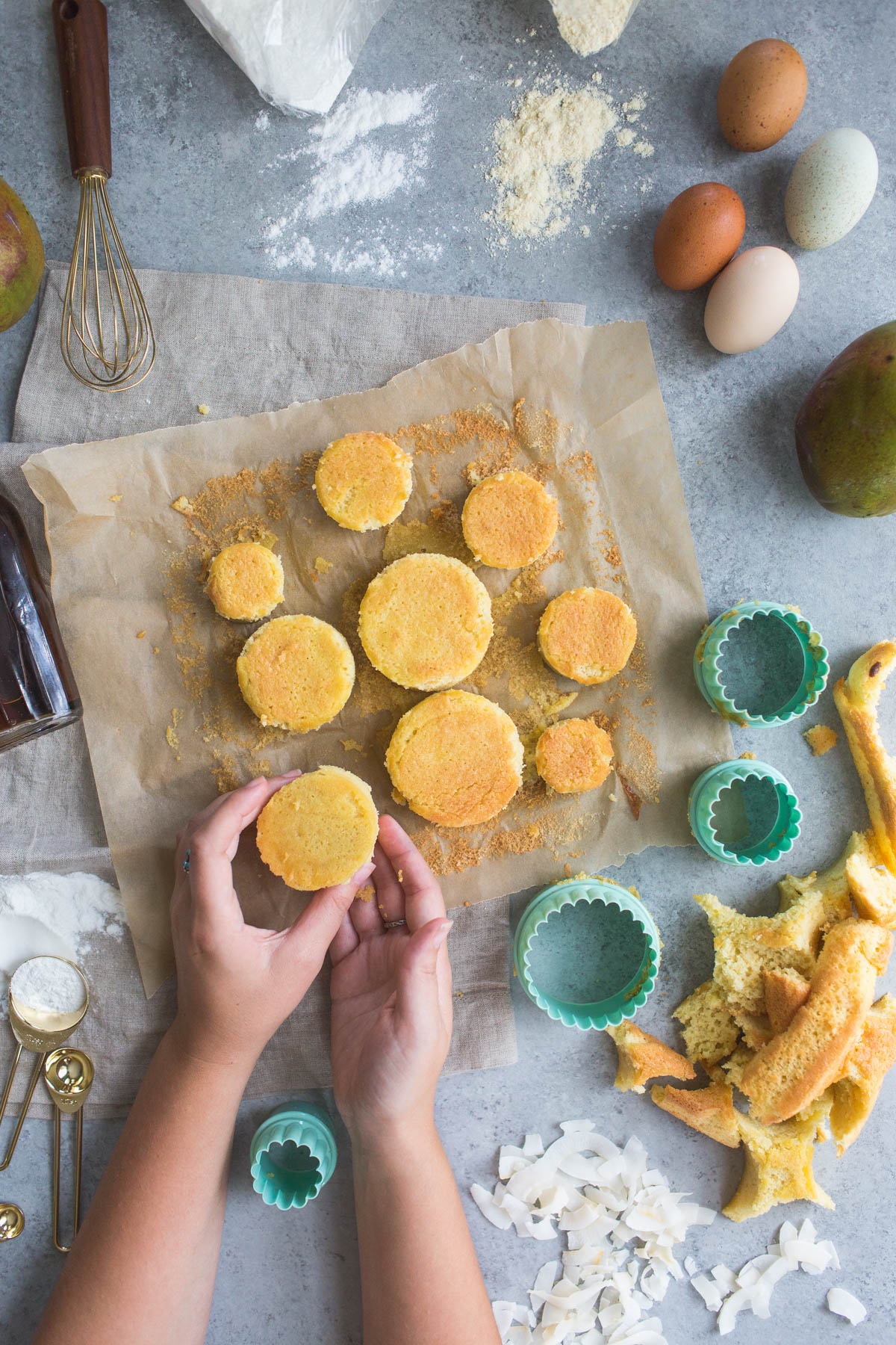 """Triple Coconut """"Tres Leches"""" Cake With Mango & Lime"""
