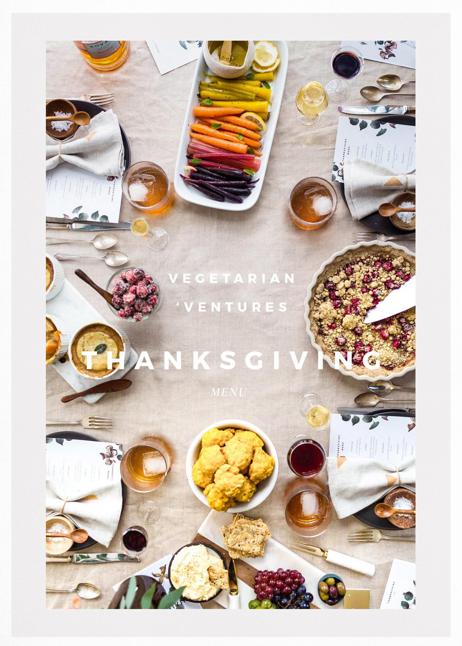 Vegetarian Thanksgiving Main