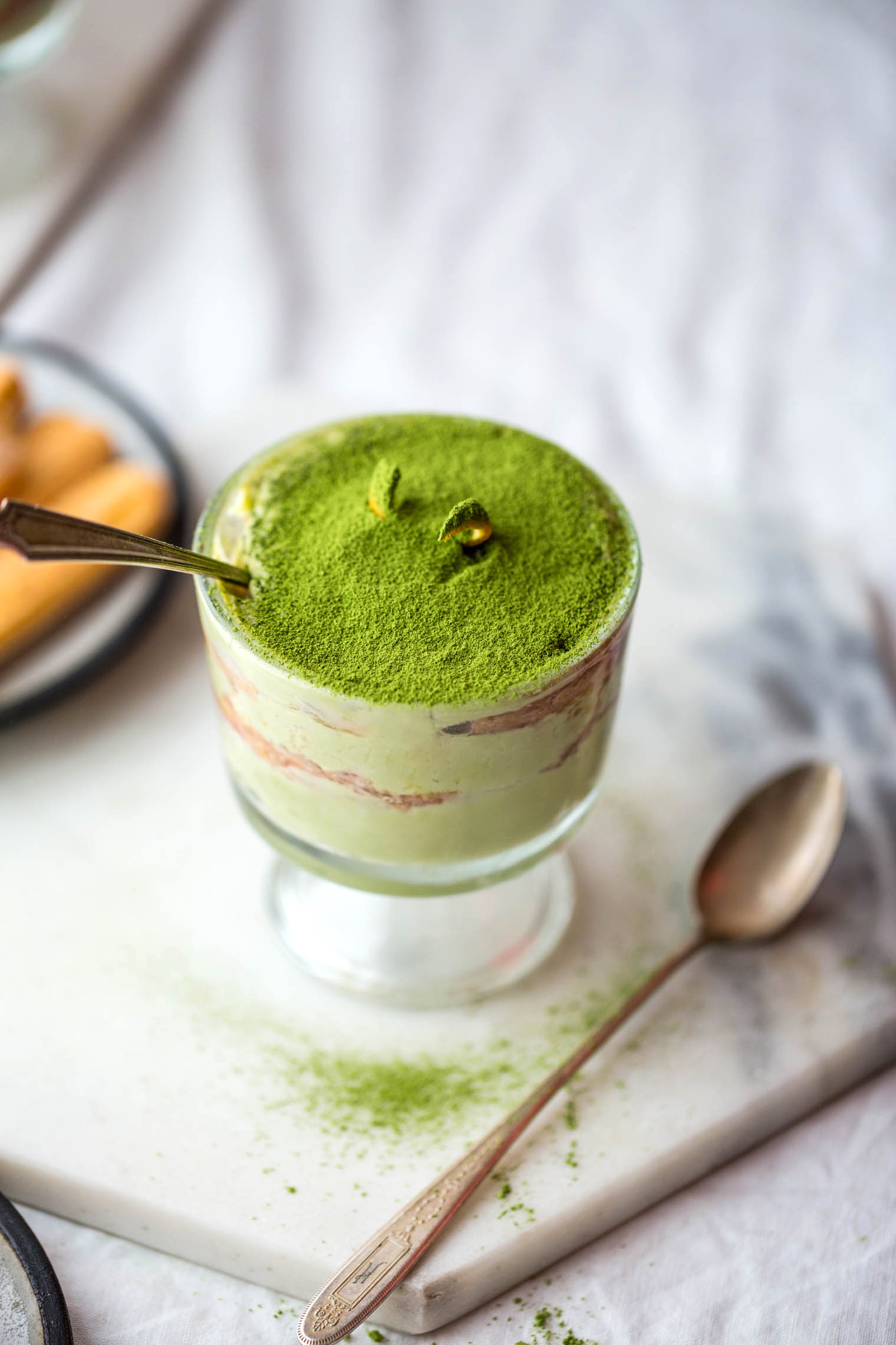 Matcha & Blood Orange Tiramisu