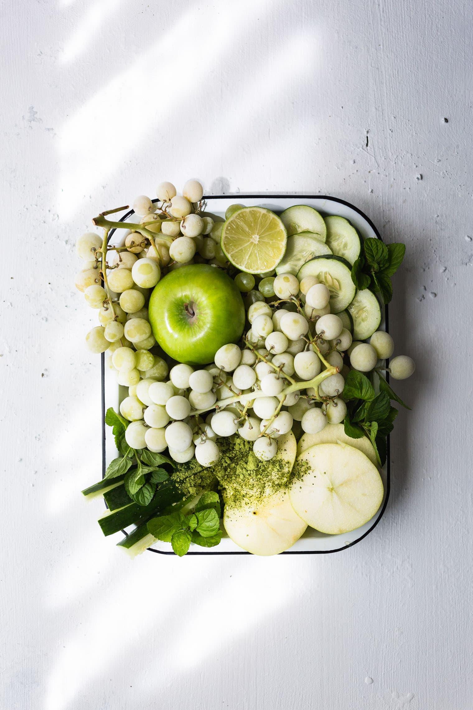 Green Matcha Sangria Recipe