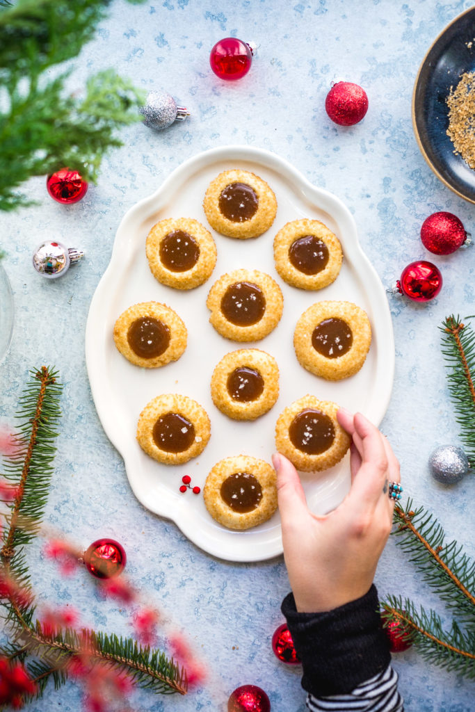 thumbprint cookie part of holiday dessert recipe round-up