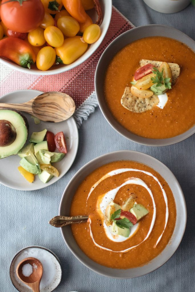 smoky tortilla soup