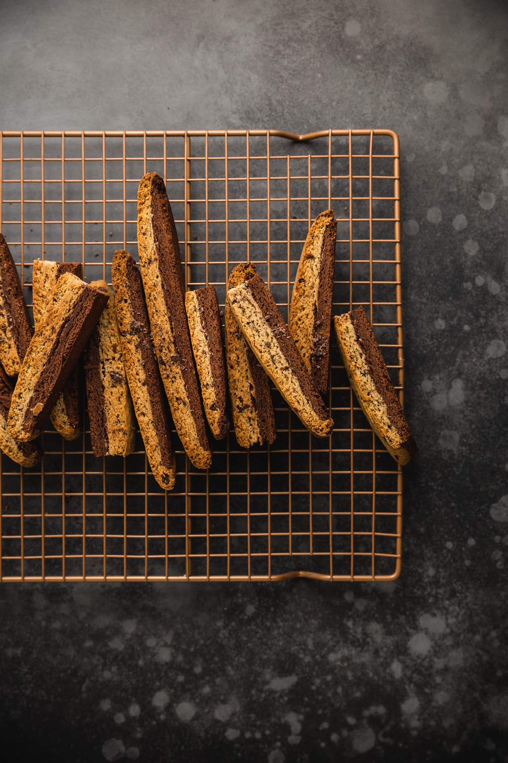 Cardamom Coffee Chocolate Biscotti