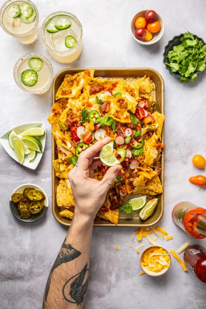 hese Smoky Quinoa Vegetarian Nachos