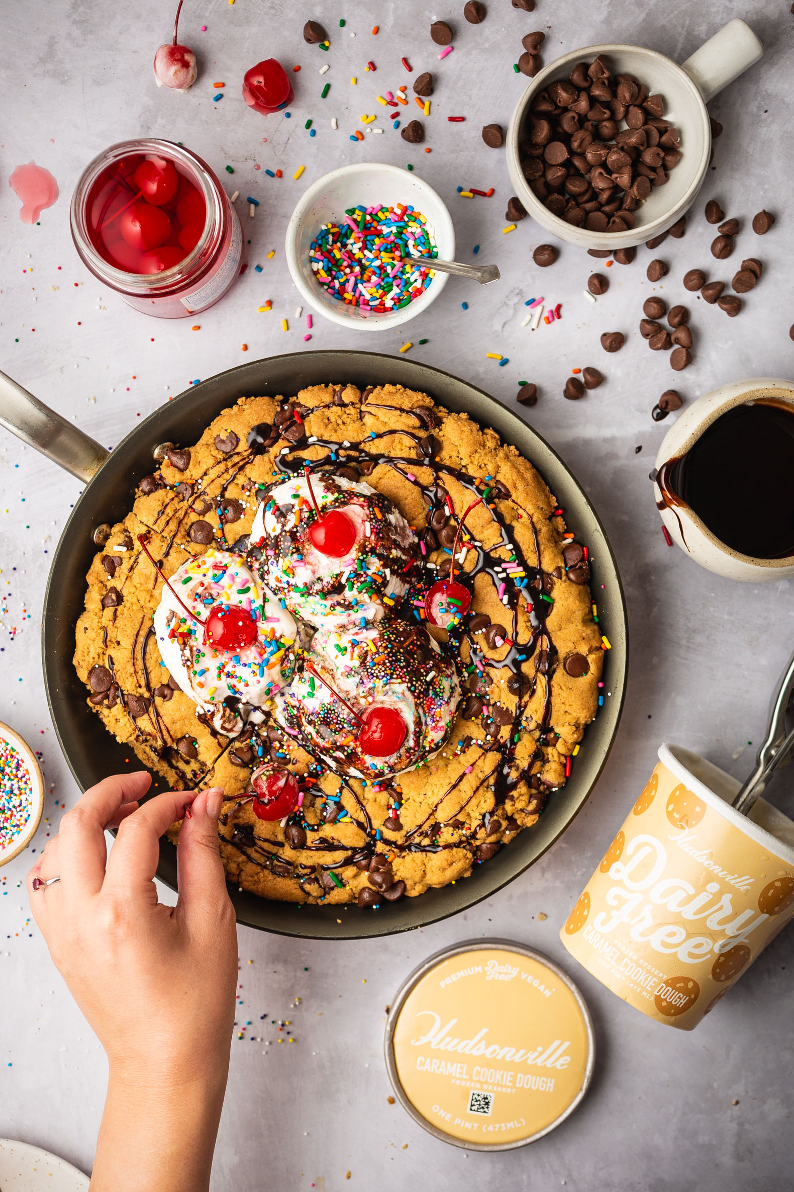 Cookie Lover's Sundae