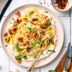Walnut Ricotta Lemon Pasta