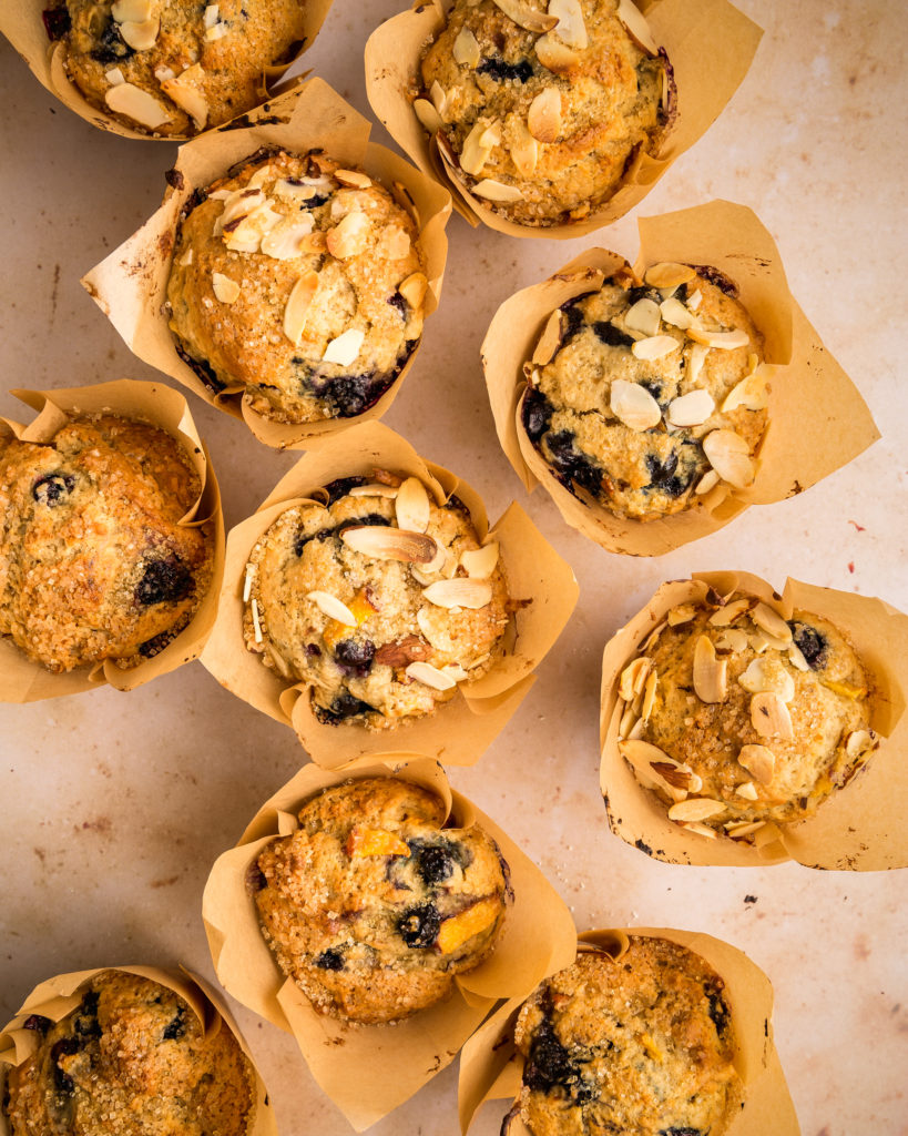 Almond Blueberry muffins