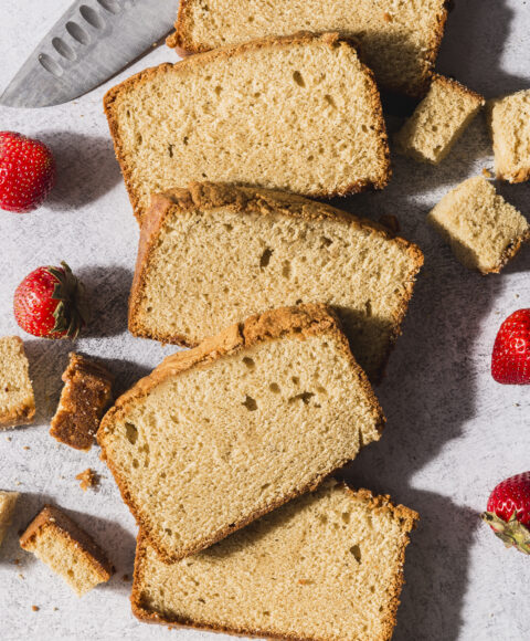 Brown Butter Sour Cream Pound Cake