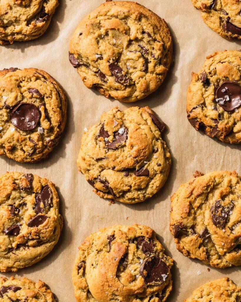Miso Chocolate Chunk Cookies