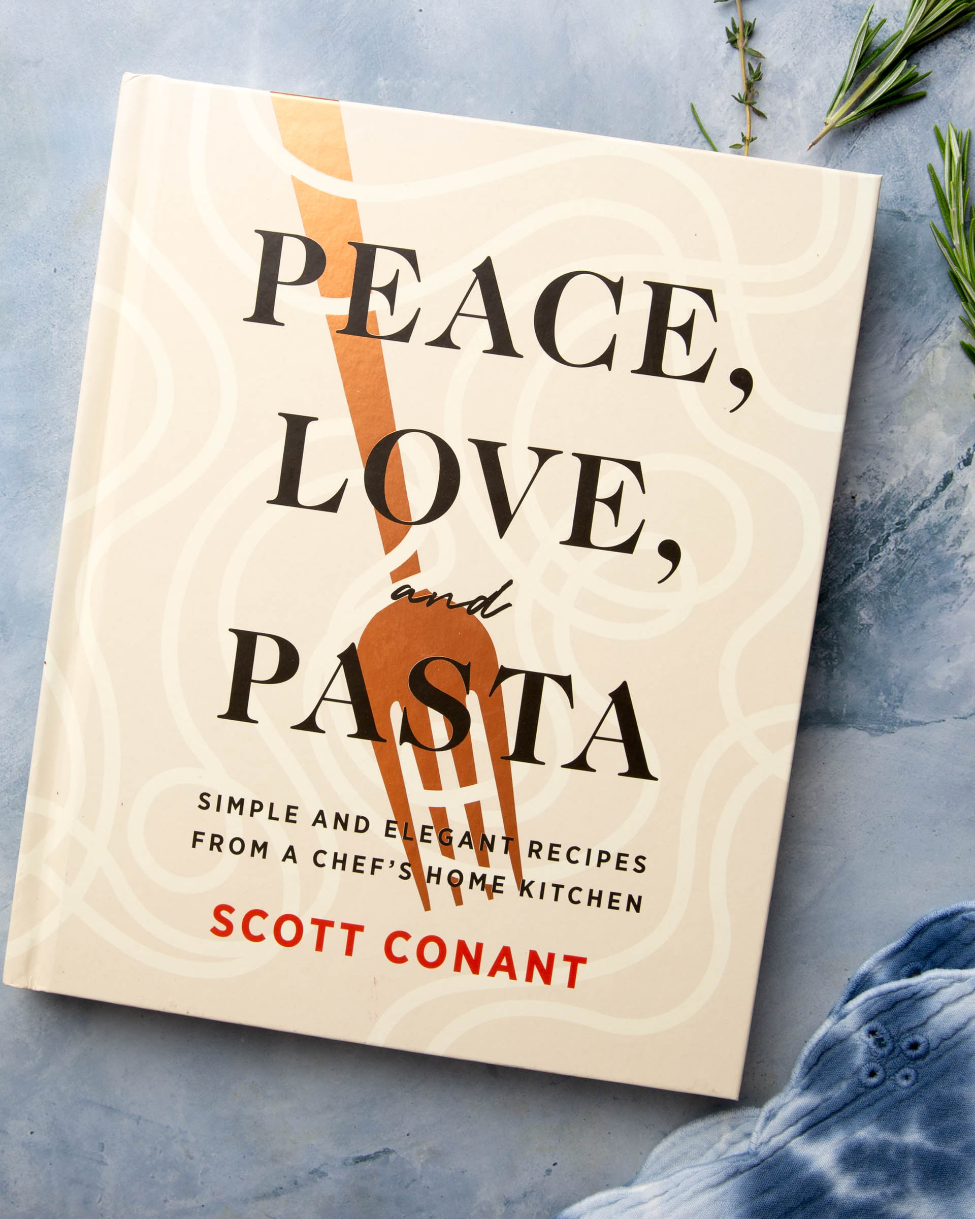 Love Peace and Pasta from Scott Conant